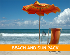 beach and sun pack