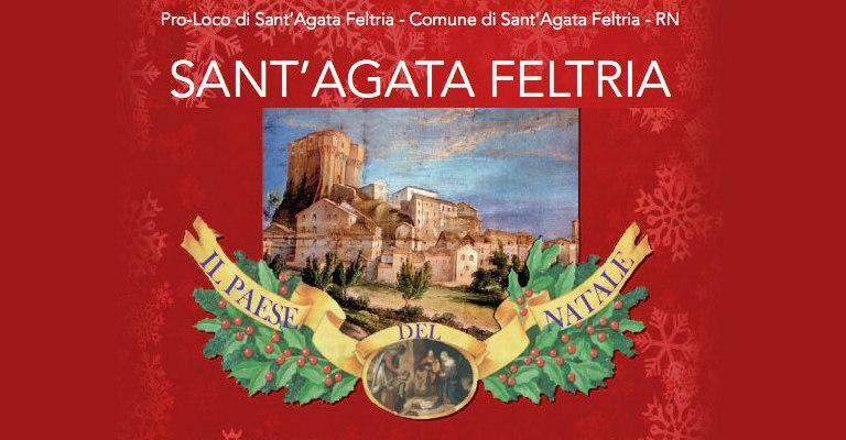 paese del Natale Sant'Agata Feltria