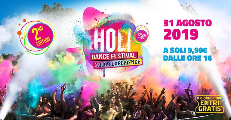 holi dance festival mirabilandia